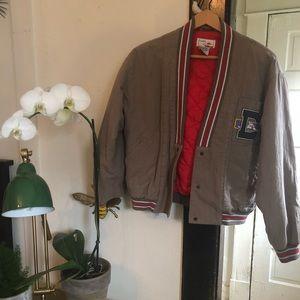 Vintage Varsity Puff Jacket
